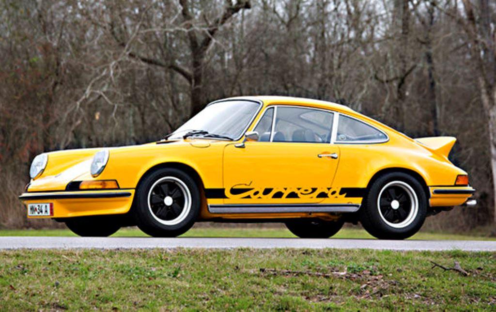 Formerly Nicolas Cage S 1973 Porsche 911 Carrera Rs 2 7