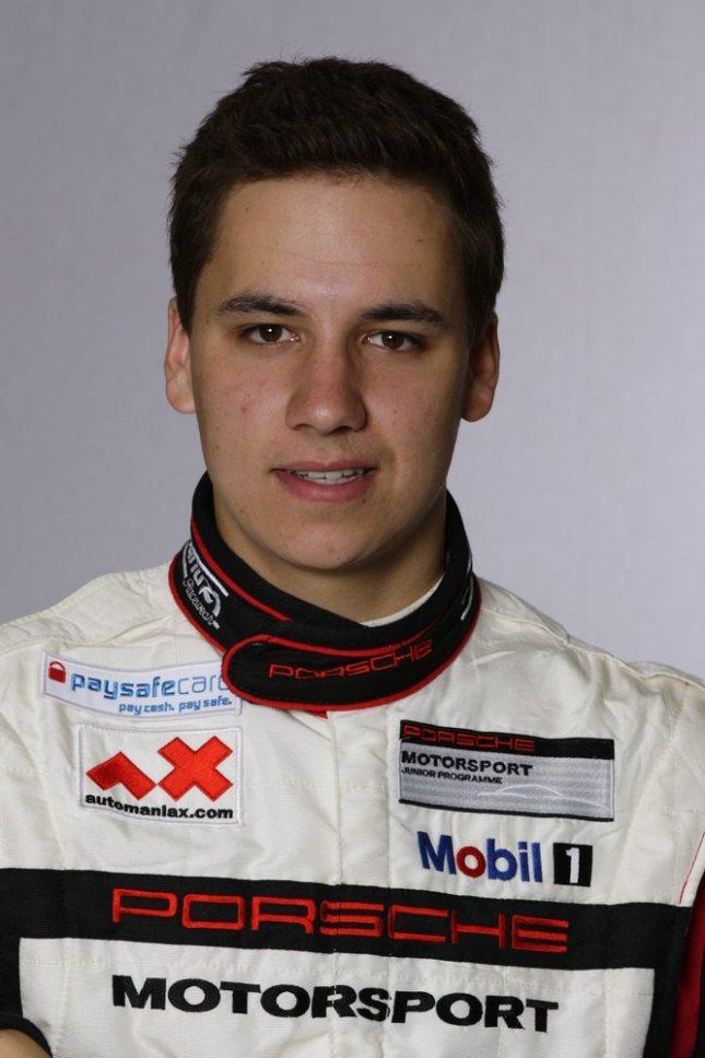 Klaus Bachler (A), Porsche Junior