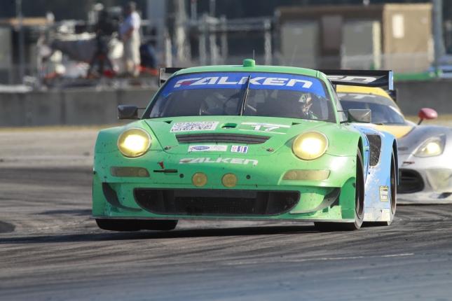 Porsche 911 GT3 RSR, Team Falken Tire: Wolf Henzler, Nick Tandy, Bryan Sellers
