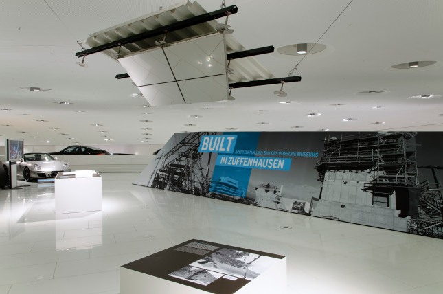 New special exhibition until 26 May 2013: Built in Zuffenhausen - Construction and architecture of the Porsche Museum