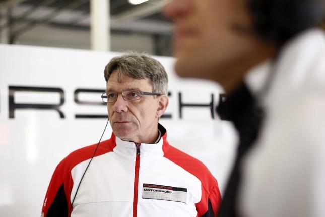 Hartmut Kristen, Porsche-Motorsportchief