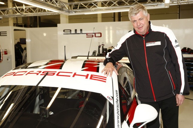 Wolfgang Hatz, Vorstand Forschung und Entwicklung Porsche AG, Porsche 911 RSR
