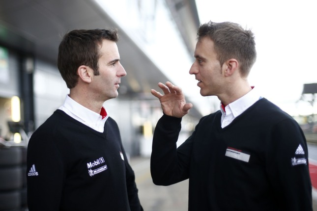 Timo Bernhard & Romain Dumas in Silverstone