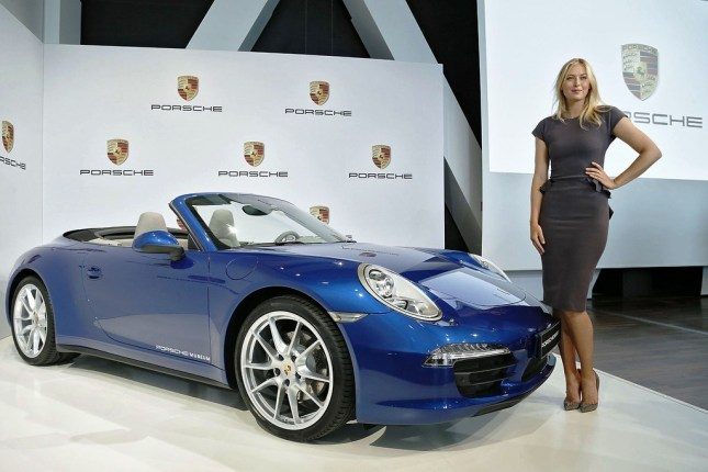 Maria Sharapova...global ambassodor to Porsche