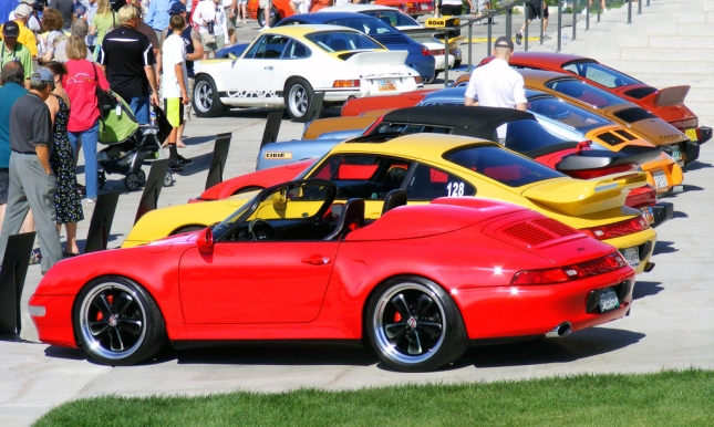 "993 ""speedy"" photo by my friend Jäger"