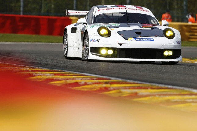 Porsche 911 RSR, Porsche AG Team Manthey: Marc Lieb, Richard Lietz, Romain Dumas