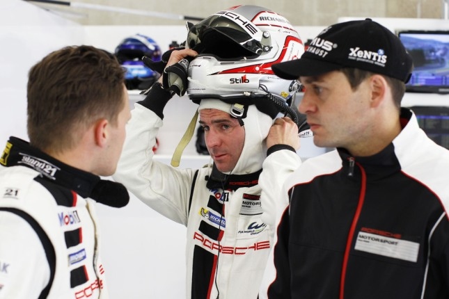 Marc Lieb, Romain Dumas, Richard Lietz, Porsche AG Team Manthey