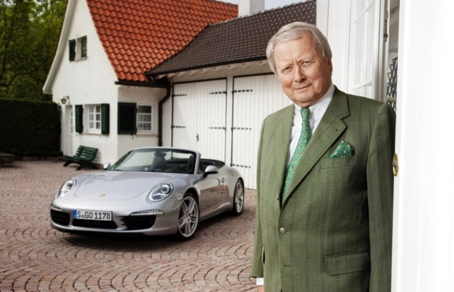 Chairman of the Porsche Supervisory Board keeps company tradition alive