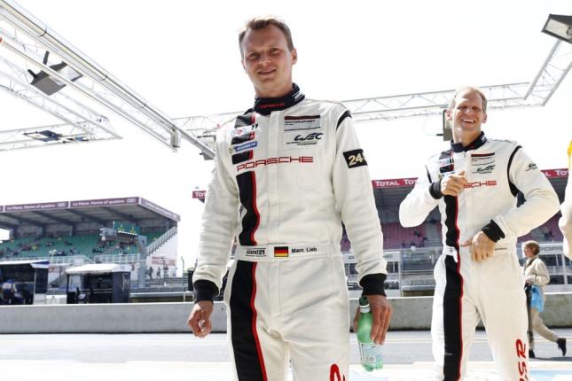Marc Lieb, Joerg Bergmeister, Porsche AG Team Manthey