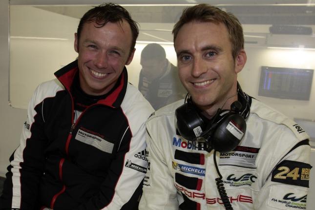 Patrick Pilet and Timo Bernhard