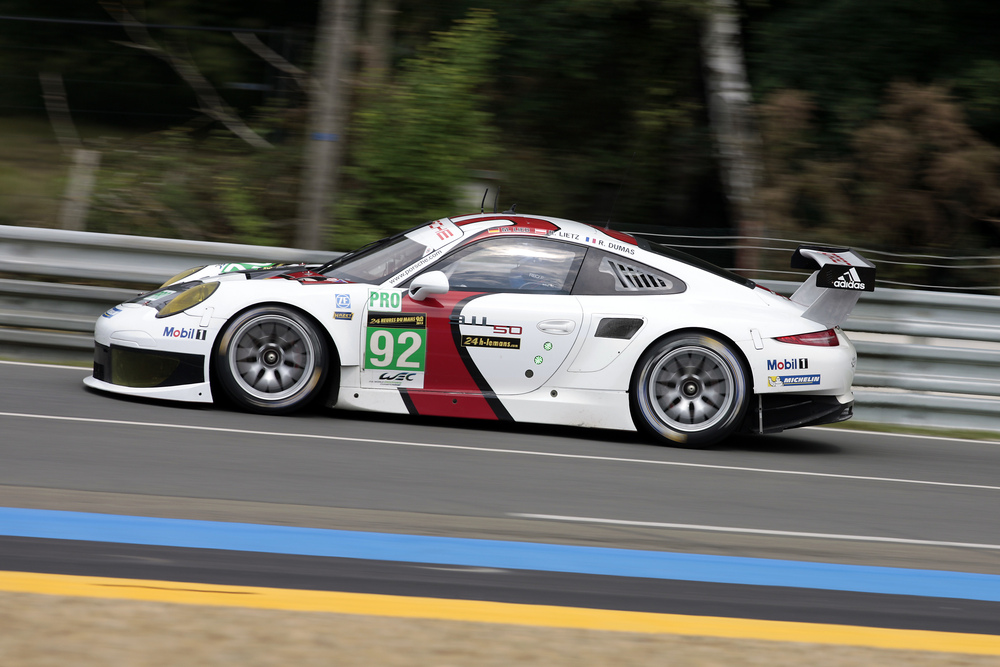 First Qualifying In Le Mans For Porsche 911 Rsr Sports