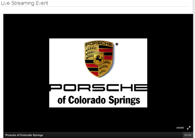 Porsche of Colorado Springs  event New Porsche dealership in Colorado Springs  CO 80906