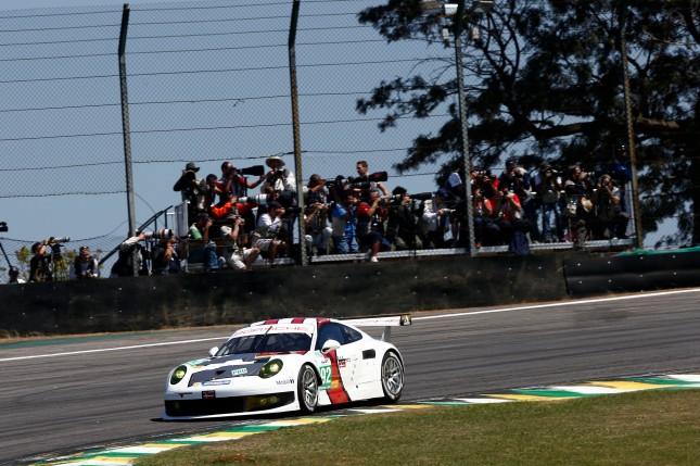 Porsche 911 RSR, Porsche AG Team Manthey: Marc Lieb, Richard Lietz