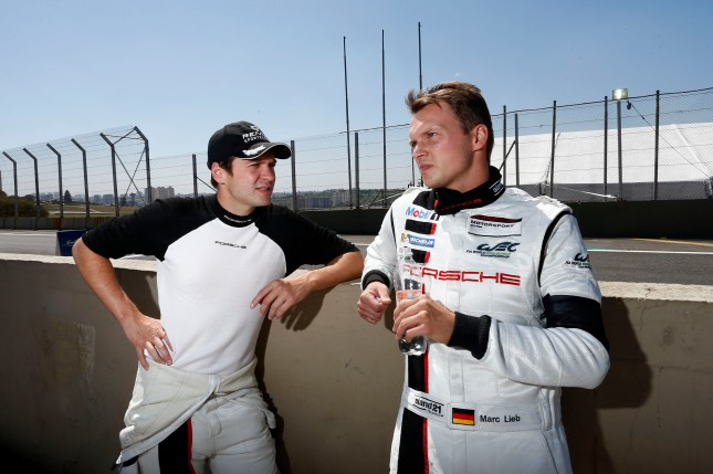 Porsche AG Team Manthey: Richard Lietz, Marc Lieb (r)