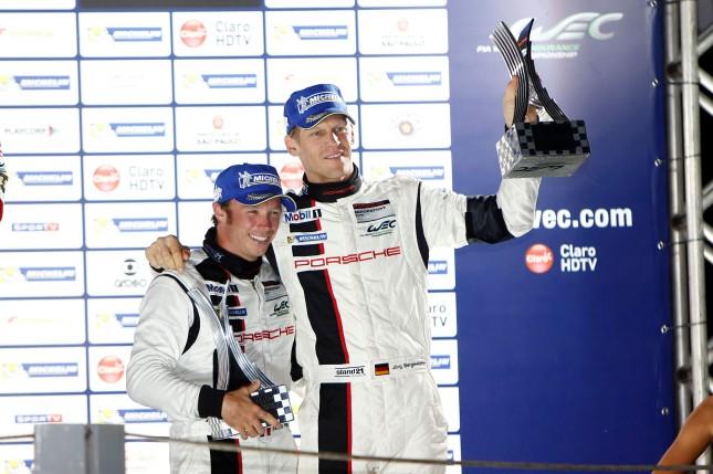 Porsche AG Team Manthey: Patrick Pilet (l), Joerg Bergmeister