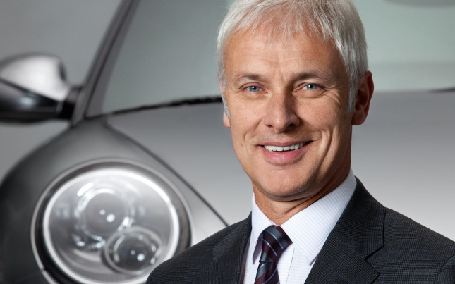 Supervisory Board of Dr. Ing. h.c. F. Porsche AG, Stuttgart, reappointed the Chairman of the Executive Board, Matthias Müller, for further five years