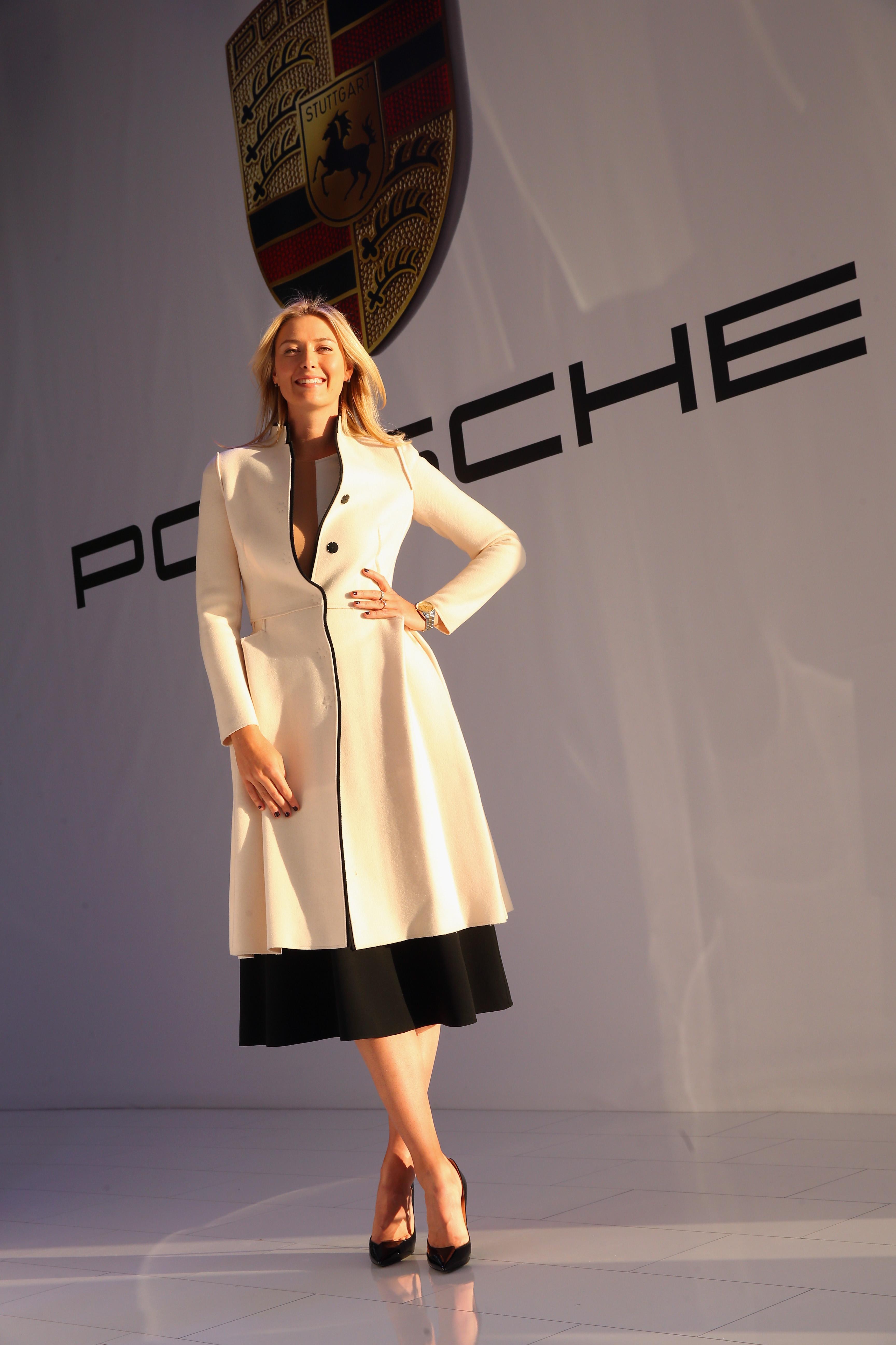 Porsche Brand Ambassador Maria Sharapova Porsche