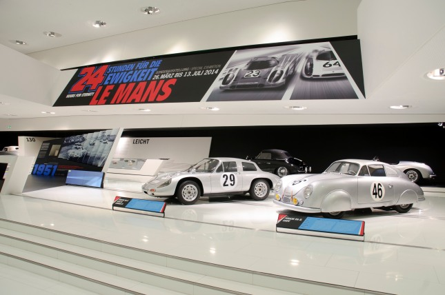 From March 26 to July 13, 2014, the Porsche Museum presents a comprehensive special exhibition about Le Mans.