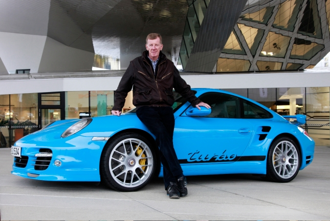 "This summer Walter Röhrl will participate in the ""Paul Pietsch Klassik"" across the south-west of Germany with the Porsche 911 Carrera 2.7 RS."