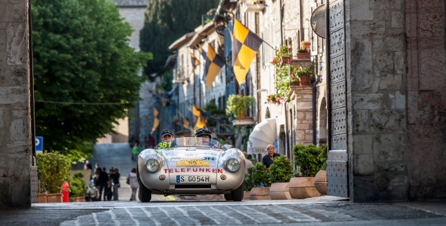 From 15th to 18th May the Porsche Museum will be entering an impressive starting field for the 1,000 miles of the legendary Mille Miglia.