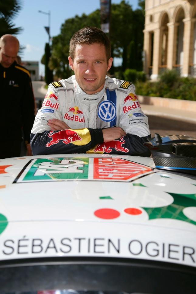 Sébastien Ogier (F) Porsche Mobil 1 Supercup  - Monaco 2013