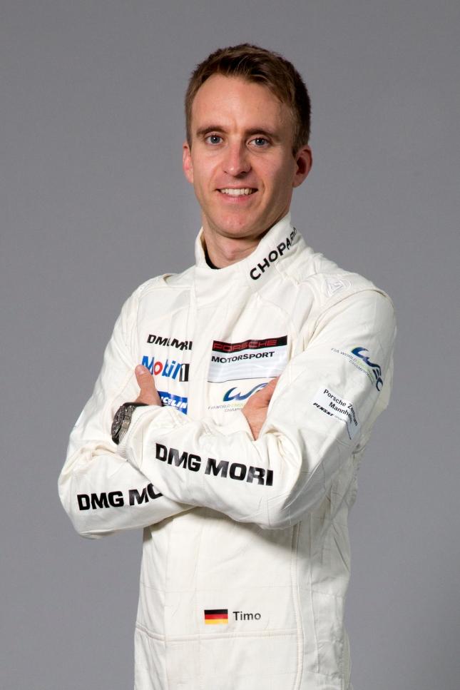 Porsche works driver Timo Bernhard