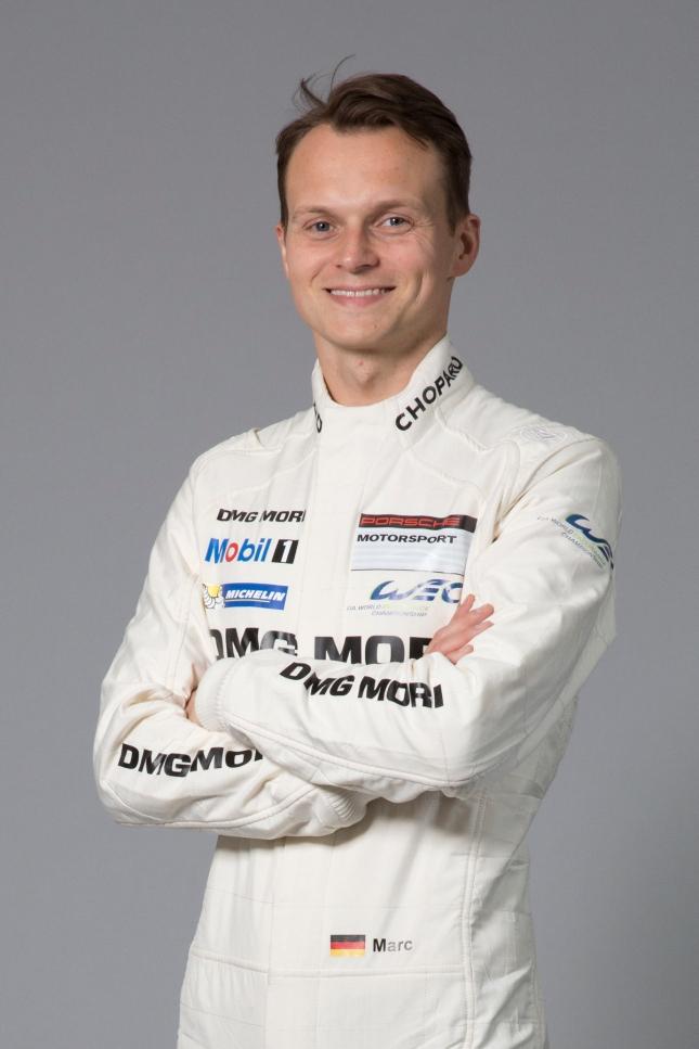 Porsche works driver Marc Lieb