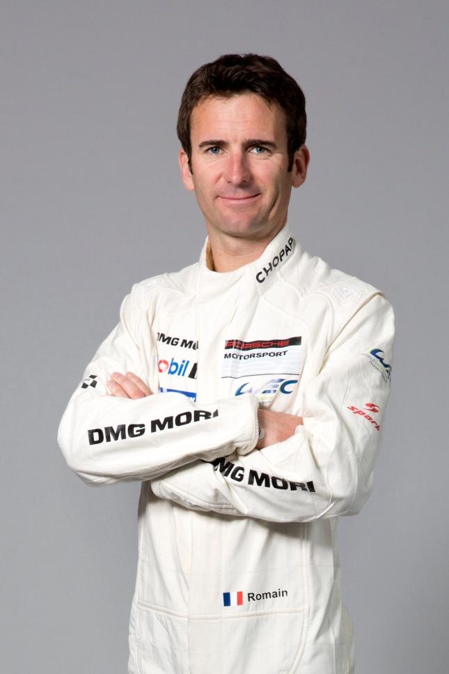 Porsche works driver Romain Dumas
