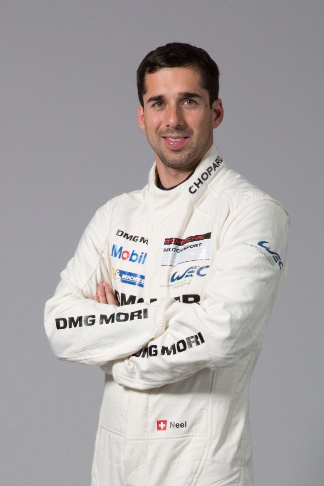 Porsche works driver Neel Jani
