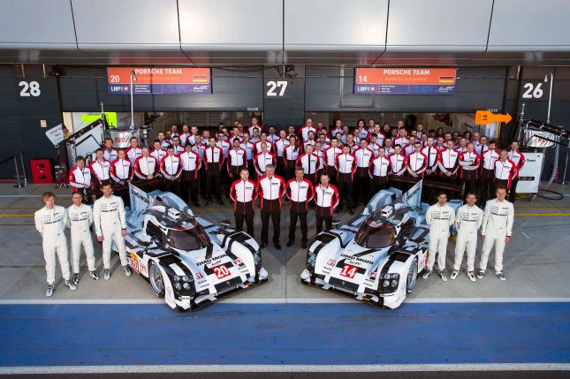 Porsche Team, Porsche 919 Hybrid: #20 Timo Bernhard, Brendon Hartley, Mark Webber, Porsche 919 Hybrid #14: Romain Dumas, Neel Jani, Marc Lieb