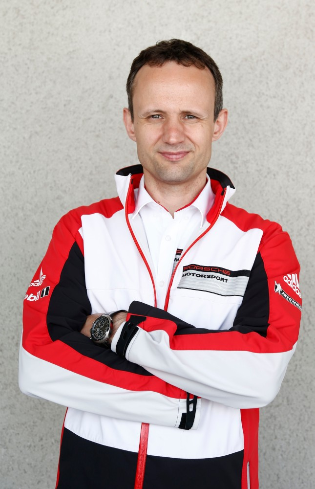 Alexander Hitzinger, Technical Director LMP1