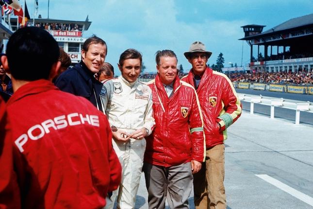 Porsche Factory Team 1969