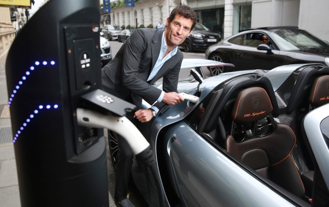 Mark Webber, Porsche works driver