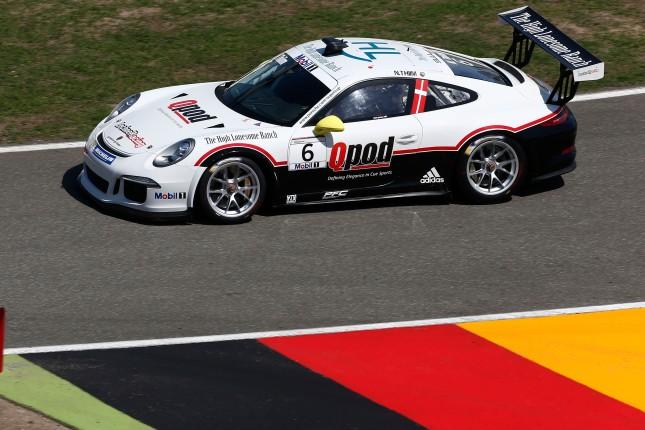 Nicki Thiim (DK) Porsche Mobil 1 Supercup Hockenheim 2014