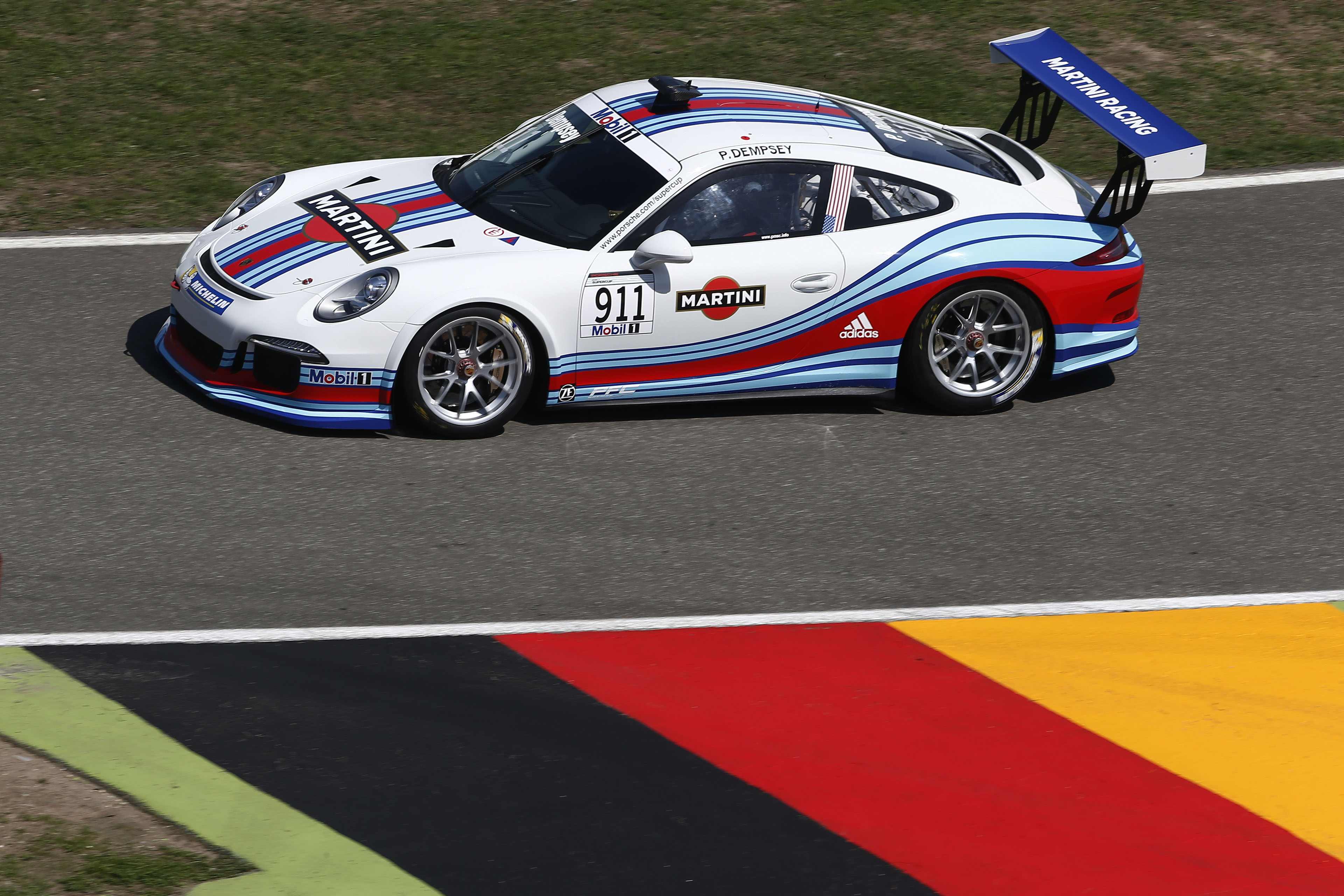 Porsche Mobil 1 Supercup Qualifying Rd 5 At The F1 Race
