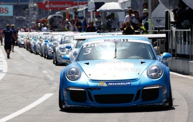 Kévin Estre (F) Porsche Mobil 1 Supercup Hockenheim 2014