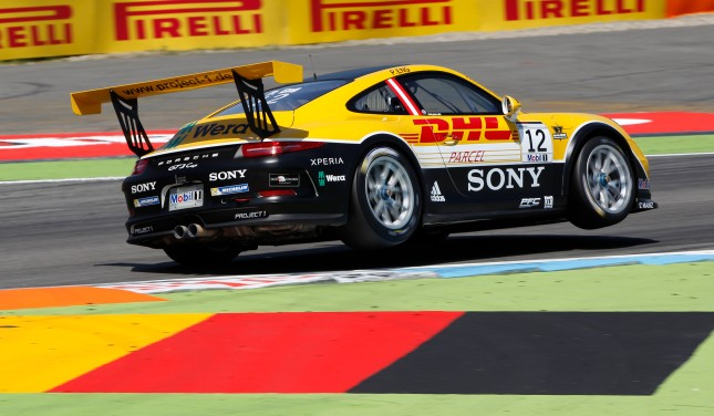 Philipp Eng (A) Porsche Mobil 1 Supercup Hockenheim 2014