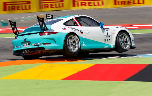 Klaus Bachler (A) Porsche Mobil 1 Supercup Hockenheim 2014