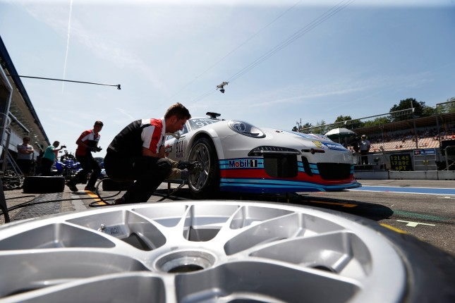 Patrick Dempsey (USA) Porsche Mobil 1 Supercup Hockenheim 2014