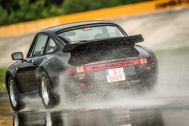 Tyre tests for classic Porsche cars: 911 Turbo (1983)