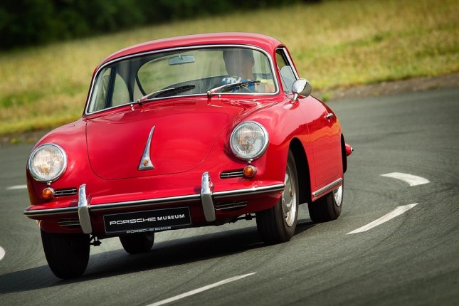 Tyre tests for classic Porsche cars: 356 B 1600 Super 90 (1963)