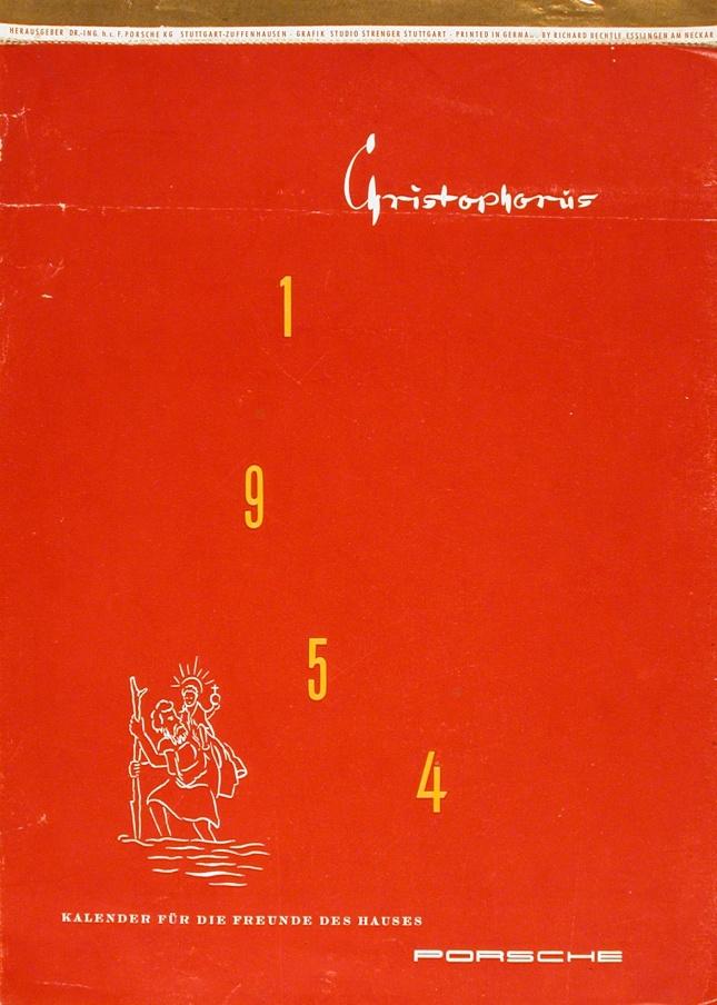 The Porsche Calendar 1954 Cover