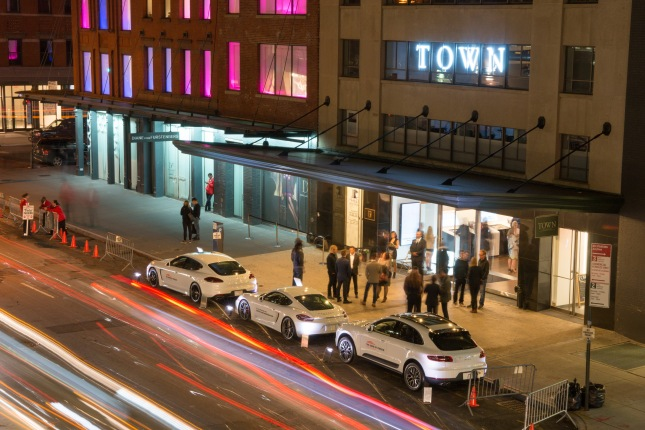 The Sound of Porsche: The German sports car manufacturer has created a completely new interactive brand experience with an exclusive temporary pop-up store in the style of a modern music store in New York's trendy Meatpacking District.