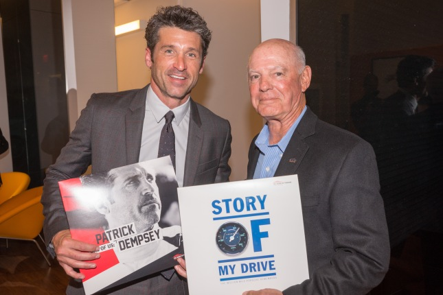 For young and young-at-heart fans: The media stations allow 16 specially produced stories all about Porsche; participants among others are actor and racing driver Patrick Dempsey (left) as well as Guy Newmark - The Million-Mile Porsche 356 Daily Driver.