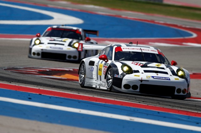 Porsche 911 RSR also 2016 in the USA Porsche 911 RSR, Porsche North America: Patrick Pilet, Nick Tandy
